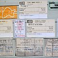 old Concert Tickets From The 90´s and 00´s