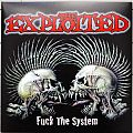 THE EXPLOITED  Fuck The System Original Red Vinyl