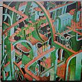 Graveyard (SWE) Innocence & Decadence Original Splatter (green on clear) Vinyl
