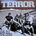 TERROR Live By The Code Original Oxblood Colored Vinyl