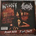 "Autopsy - Tape / Vinyl / CD / Recording etc - Autopsy vs Bloodbath ‎– Blood Bath vs Fuck You!!! 7"" Vinyl"
