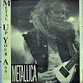 "METALLICA Metal Up Your Ass/No Life 'Till Leathur 7"" Single Vinyl"