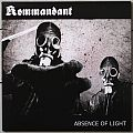 """KOMMANDANT/NOMINON Absence Of Light / Impaling The Nazarene 7"""" Split Original Vinyl"""
