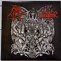 "NunSlaughter / Evil Wrath ‎– The Hammer Of Satan 7"" Split Single"