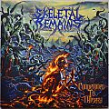 Skeletal Remains Condemned To Misery yellow/black marbled Original Vinyl