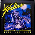 Stallion - Tape / Vinyl / CD / Recording etc - STALLION Rise And Ride Original Yellow Vinyl