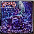 """AVULSED Altar Of Disembowelment 10"""" Original White Marbled Vinyl"""