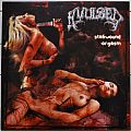 AVULSED Stabwound Orgasm Red/White Splatter Coloured Vinyl