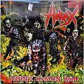 HIRAX Noise Chaos War Red/Clear splatter  Original Vinyl