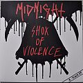 Midnight ‎– Shox Of Violence Clear with Black and Red Splatter Coloured Vinyl Tape / Vinyl / CD / Recording etc