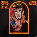 OZZY OSBOURNE Speak Of The Devil Original Vinyl