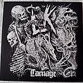 Lik – Carnage Red Opaque with Black Splatter Vinyl