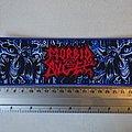 Morbid Angel - Patch - Morbid Angel - Altars of Madness stripe patch