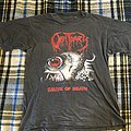 OBITUARY Cause of Death Tour 1990 TShirt or Longsleeve