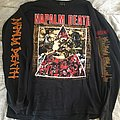 NAPALM DEATH 1992 European tour longsleeve TShirt or Longsleeve