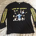 LIFE OF AGONY Lost At 22 European Tour Longsleeve TShirt or Longsleeve