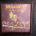 Megadeth - Patch - Megadeth Rust In Peace Printed Patch