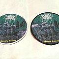 Darkthrone - Patch - Darkthrone - Ravishing Grimness circle patch