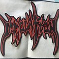 Immolation - Patch - Immolation logo backpatch