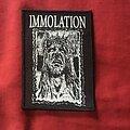 Immolation - Patch - Immolation - No Jesus No Beast patch