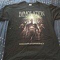 Immolation - TShirt or Longsleeve - Immolation - Kingdom of Conspiracy
