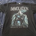 Immolation - TShirt or Longsleeve - Immolation - Majesty and Decay
