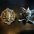 Running Wild rare vintage pins Pin / Badge