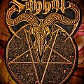 Sabbat - Disembody official dwtmh leather embroidered backpatch, limited to 100 pieces