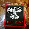 White Spirit original red border patch