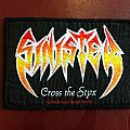 Sinister - Cross the Styx official woven patch