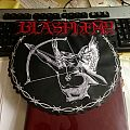 Blasphemy Fallen Angel of Doom DWTMH official leather backpatch, limited to 100