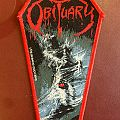 Obituary Cause of Death - Bang-cock tour official woven patch