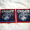 Spider original woven patches