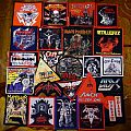 Heavy Metal and NWOBHM, some of my modest patch collection