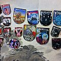 Vintage shield pins collections