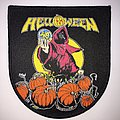Woven Helloween - Keeper Of The Seven Keys 87' tour patch