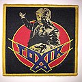 Official Woven Toxik - World Circus  Patch Yellow Border