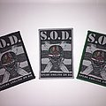Woven S.O.D patch