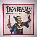 Woven Iron Reagan Patch