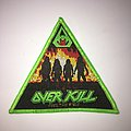"Woven Overkill ""Feel The Fire"" patch"