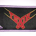 Toxik - Think This Strip - Light purple Border  Patch