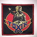 Official Toxik - World Circus Patch -Red Border