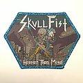 Skull Fist Patch