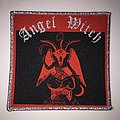 Woven Angel Witch Patch