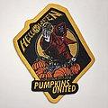 Woven Helloween - Pumpkins United patch