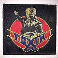 Official Toxik - World Circus Patch - Black Border