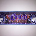 "Woven Dio ""Master of the moon"" Strip Patch"