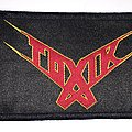 Toxik - Think This Strip - black border Patch