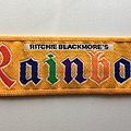 Vintage Woven Ritchie Blackmore's Rainbow Patch