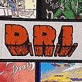 D.R.I Woven Logo Strip Patch